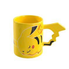 Picacho Pocket Monster Coffee mug cute cartoon copo creative tea milk cup drinkware #Affiliate
