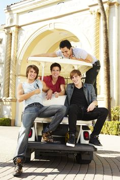 Big Time Rush Season 1 Promotional Outtakes