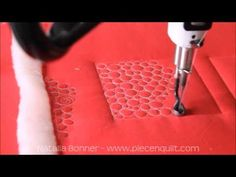How To: Machine Quilt Pebbles with Natalia Bonner - YouTube