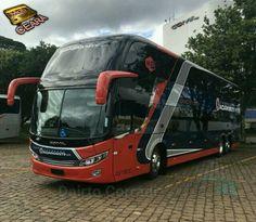 Onibus Marcopolo, Marathon Coach, Bus City, Motorhome Conversions, Luxury Bus, Buses And Trains, Toyota Hiace, Mini Bus, Double Decker Bus