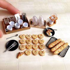 2017.11 Miniature Bread & Coffee By Fraise
