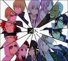 K Project ~~ A few of the faces...