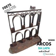 Novidades no departamento de Decoração  da @lindamoliva!!! Arcos da Lapa e Bondinho de Santa Tereza nesta Top Peça Retro Industrial  Visite nossa loja virtual, estamos com muitas novidades para vocês!!! www.lindamoliva.com.br , enviamos para todo o Brasil!!! #decoracao #decoração #retroindustrial #design #designdeinteriores #riodejaneiro #errejota #arcosdalapa #rústico #temqueter #diadasmães #presente #diadasmaes #lindamoliva #euusolindamoliva #madeinbrazil #meideinbrasil #decor