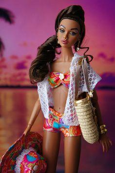 Malibu poppy Doll By Trina Turk