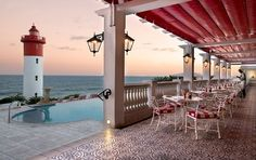 Who's up for dinner at the Ocean Terrace restaurant in Umhlanga? #Beach #Holiday #Foodies #AmazingSouthAfrica