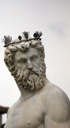 Neptune Statue in Florence. by photographer Matt Robinson of MetroScenes