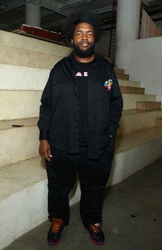 "#Questlove wearing #Nike Lebron X ""Denim"""