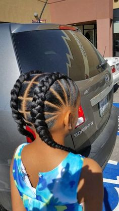 braids hairstyles and cornrows pictures kids braided hairstyles 22 Mind Blowing Braid Hairstyles for your next look Little Girl Braids, Black Girl Braids, Braids For Kids, Kid Braids, Braids Easy, Children Braids, Toddler Braids, Simple Braids, Black Curls
