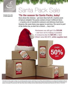 love surprises? check out the Santa Packs!