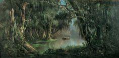"""Bayou Teche"" by Meyer Straus"