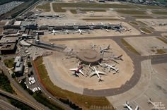 Located around 29.5 miles south of Central #London, #GatwickAirport is the second largest International Airport in the city.