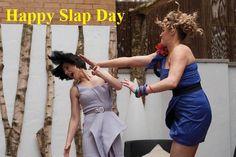 Valentine Slap day pics