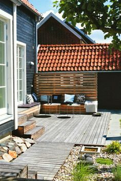 Home Exteriors - Terracotta Roof Tiles