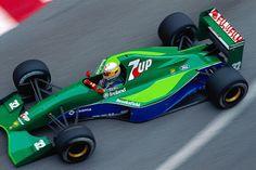Bertrand Gachot (BEL) (Equipo de 7Up Jordan), Jordan 191 - Ford HB4 3.5 V8 (8 de acabado) 1991 Gran Premio de Mónaco, circuito de Mónaco  http://f1-history.deviantart.com/art/Bertrand-Gachot-Monaco-1991-423045367