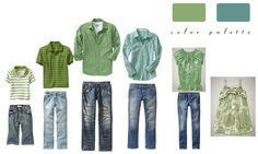 What To Wear Wednesday (Green Spring! Family Portrait Outfits, Family Outfits, Family Portraits, Family Pictures What To Wear, Family Pics, Clothing Photography, Photography Guide, Family Photography, Quoi Porter