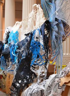 ' The New Orleans Museum of Art unveils a new large scale, site-specific installation by the internationally renowned artist Swoon. This installation, entitled Thalassa, is named for and inspired by the Greek goddess of the sea.