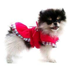 Vestido Dior Rosa Pickorruchos - MeuAmigoPet.com.br #petshop #cachorro #cão #meuamigopet