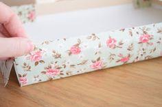 Blog sobre decoração, artesanato, DIY e receitas Floral Tie, Decoupage, Diy, Accessories, Blog, Scrap, Pasta, Shoe Box, Wooden Chest