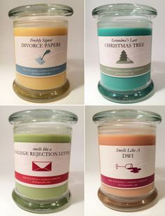 The Flicking Candle Company: Candles for special occasions!!
