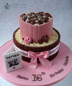 Sweet 16 Chocolate Wrap Cake