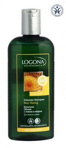 Logona: Volumen Shampoo. Шампунь Объём с пивом и мёдом