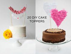 DIY Wednesday: 20 Lovely Cake Toppers - Bajan Wed : Bajan Wed