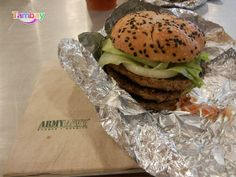 Come and stop by if you are looking for a feast as Army Navy only serves food for those with strong and hearty appetites. Army & Navy, Hamburger, Relax, Strong, Drink, Ethnic Recipes, Food, Cagayan De Oro, Beverage