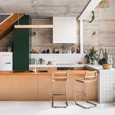 "8 Likes, 2 Comments - HOMEPLACE (@homeplaceonline) on Instagram: ""This kitchen A home in Western Australia designed with sustainability in mind. From the mix…"""