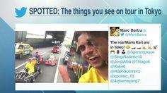 The Sweeper: BVB spot real life Mario Kart