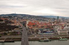 Bratislava - View from Bridge SNP tower https://www.google.com/maps/d/edit?mid=1peiLhfLGVISgg9Ia7zYOqWecX9k&ll=48.13850275291097%2C17.102179931478645&z=18