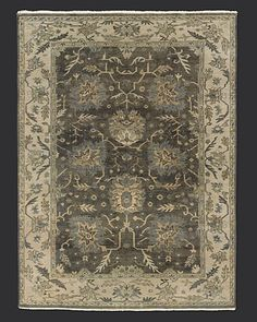 love this rug...soooooo much! Too bad Restoration Hardware is not in my budget!