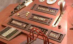 1996 TARDIS console, set to Gallifrey #gally