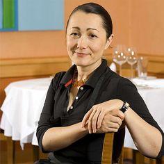 Tanja Grandits wears her Heure H by Hermès.