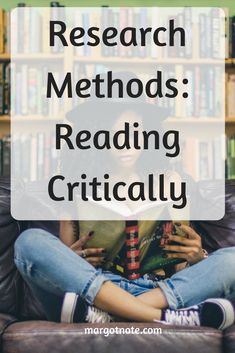Research Methods: Reading Critically What If Questions, This Or That Questions, Future Research, Tools For Teaching, Research Methods, Trust Me, Comprehension, Continue Reading, Literature