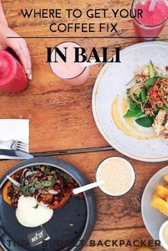 From clean-eating brunches, to cold pressed goodness and next-level smoothies... Here's where to get your Bali coffee fix. #BaliDestination