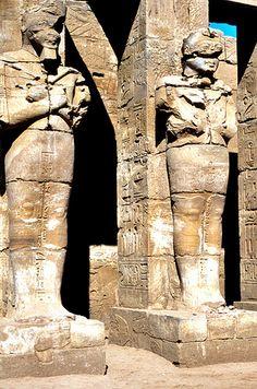 TEMPLE OF RAMSES III , KARNAK
