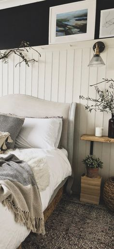 How To Achieve The Hygge Interior Trend In 8 Simple Steps Hygge bedroom interior design Home Bedroom, Bedroom Wall, Girls Bedroom, Bedroom Ideas, Loft Bedroom Decor, Master Bedroom, Feature Wall Bedroom, Modern Bedroom, Interior Design