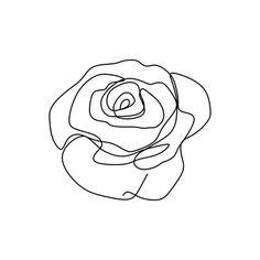 arte,background,linda,beleza,aniversário,black,bloom,flor,cartão,celebrar,contínua,contorno,creative,decoração,decorativa,doodle,desenho,desenhado,floral,flor,frame,gráfico,mão,icon,ilustração,convite,isolado,folha,linha,logotipo,a natureza,descrição,pétala,planta,romântico,rose,rosas,sazonal,sinal,a simplicidade,único,sketch,a primavera,verão,símbolo,trendy,vector,vintage,casamento,branco Rose Line Art, Line Art Flowers, Flower Art, Line Art Tattoos, Cute Tattoos, Illustrations Vintage, Motifs Roses, Botanical Line Drawing, Tiny Tattoos For Girls