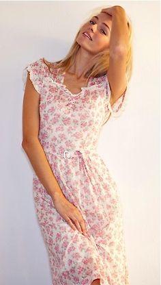 ♔  Floral summer dress