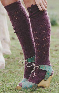 #beautiful Leg warmers...