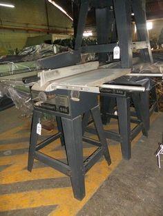 Marca *TOOLKRAFT*Origen U.S.A.Mesa 431.80 x 508 mm Con extensiones 1250 x 500 mm Corte máx. 3 1/4in Motor monofásico 1.25hp