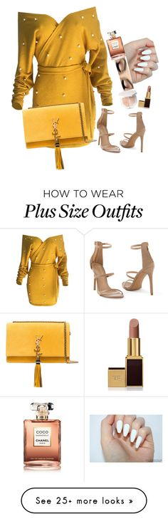 """""""( this is a trashy set, I apologize. ) hangin with zayn c: x buttercup"""" by margaritomancy on Polyvore featuring WithChic, Venus, Chanel, Tom Ford and Yves Saint Laurent"""