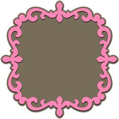fancy frame-------------------------I think I'm in love with this shape from the Silhouette Online Store!