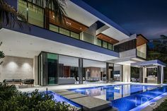 """Lifestyle Production Group on Instagram: """"New Tour de Force Modern architectural deepwater estate in The Sanctuary by Steigerbuilt, LLC and cutting-edge Miami-based…"""" Real Estate Ads, House Goals, Luxury Living, Home Fashion, Luxury Real Estate, Luxury Lifestyle, Luxury Homes, Architecture Design, Condo"""