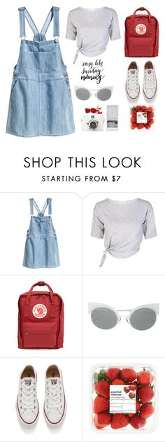 """""""#0009"""" by thelittleclara ❤ liked on Polyvore featuring H&M, Fjällräven, Fendi, Converse and Lomography"""