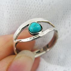 Valentines Sale - Turquise sterling silver ring. Eye of ra ring. Egyptian ring. Turquoise ring (sr-9628) Turquoise jewelry, Egyptian jewelry on Etsy, $49.00
