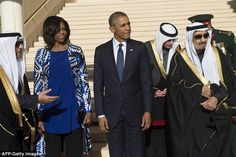 The staggering lack of f*cks given by Michelle Obama sent Saudi Twitter into a tizzy.
