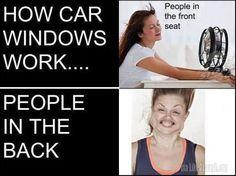 How car windows work