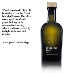 Petrichor Land extra virgin organic olive oil www.petrichor-land.gr