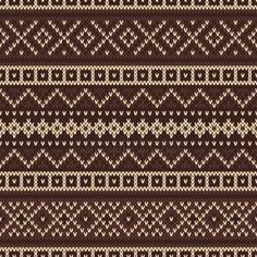 Illustration about Nordic traditional Fair Isle style seamless pattern on the wool knitted texture. Illustration of nordic, background, fairisle - 44496510 Knitting Stiches, Knitting Charts, Knitting Socks, Free Knitting, Knitting Patterns, Motif Fair Isle, Fair Isle Chart, Fair Isle Pattern, Crochet Motifs
